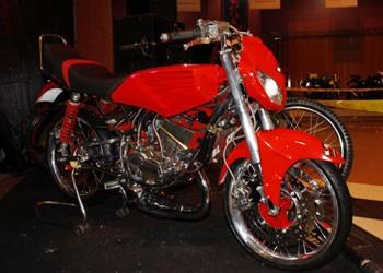 Foto Motor Rx King Di Modifikasi