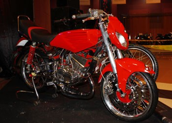 Modifikasi Motor Yamaha Rx King 2013