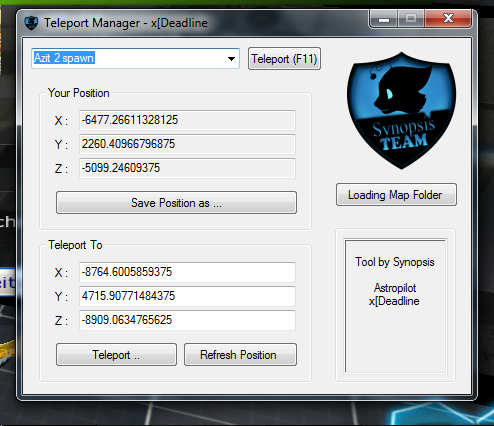 OXqAf S4 League Teleport Manager Hile Botu indir