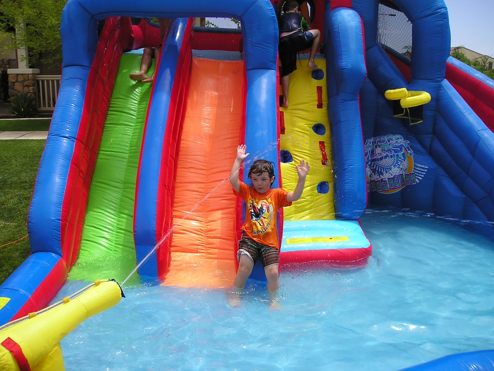 Celebrate your Child s Birthday with a Water Slide Buyer s Guide