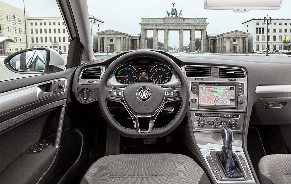 Interior del e-Golf