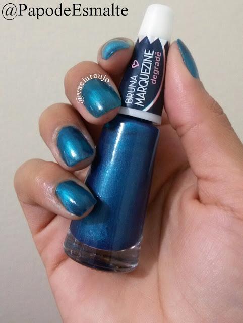 Esmalte Ludurana Blue Black