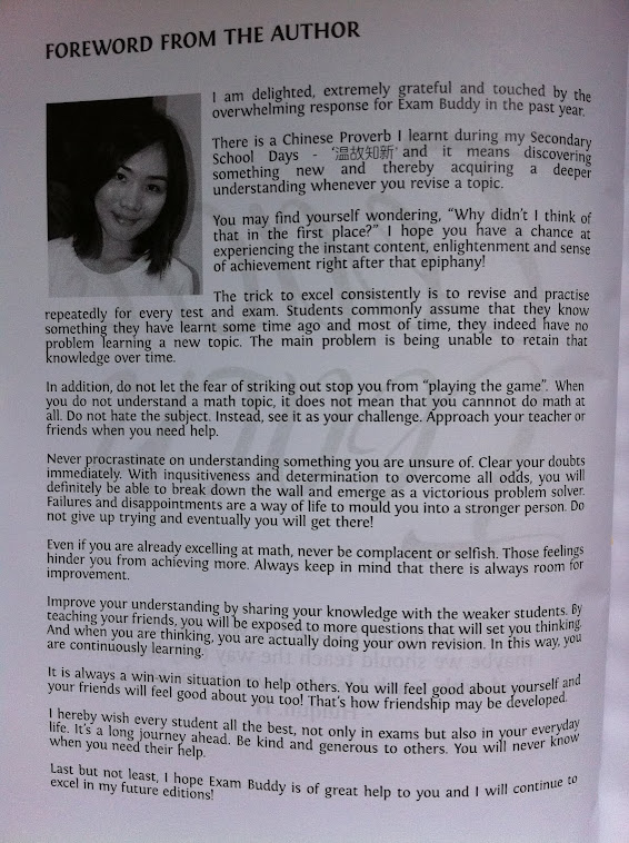 Miss Huang's Foreword