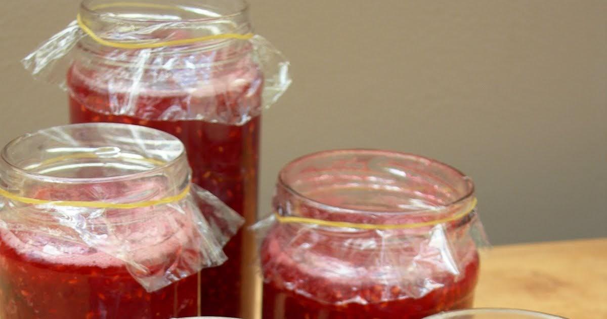 ... vegetable gardening: Easy raspberry and strawberry jam recipe