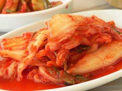 Makanan Korea Kimchi