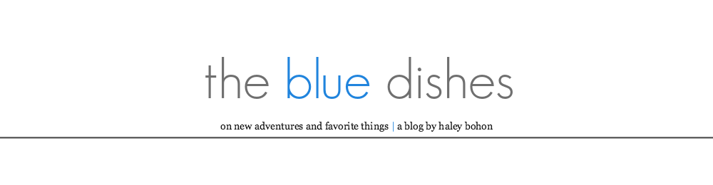 the Blue Dishes