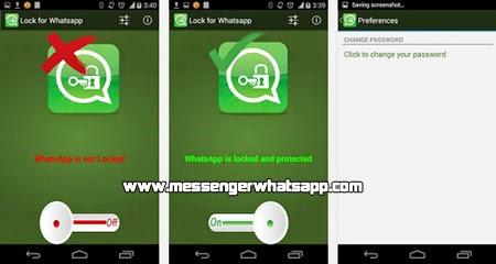 Cuida tu privacidad al maximo con Cerradura para Whatsapp