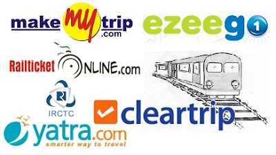 Websites for Online railway ticket Booking in India