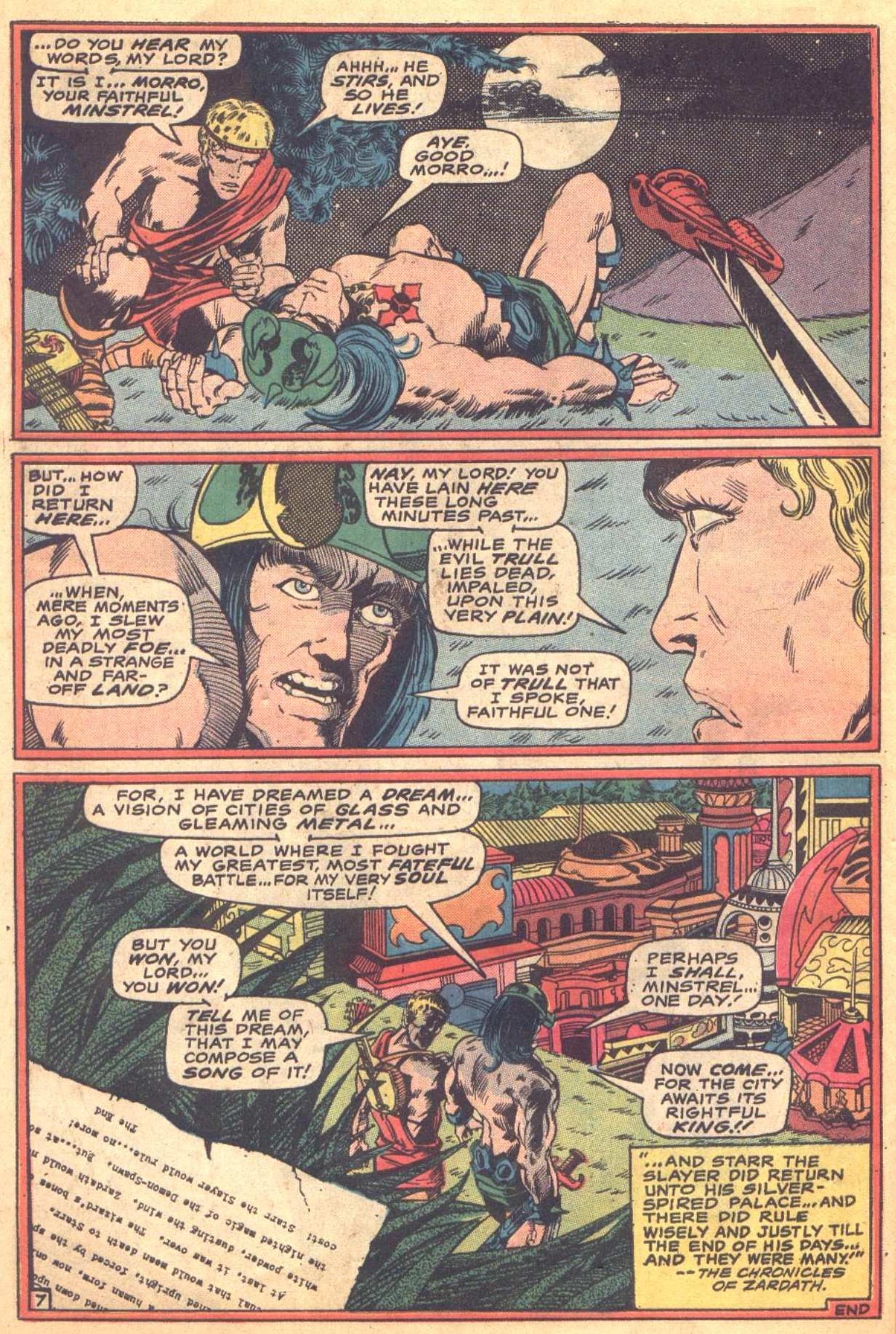Conan the Barbarian (1970) Issue #16 #28 - English 19