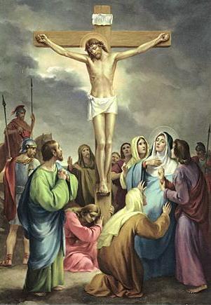耶稣基督被钉死受难