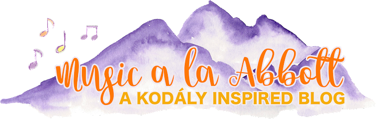 Music a la Abbott - Amy Abbott -  Kodály Inspired Blog and Teachers Music Education Resource