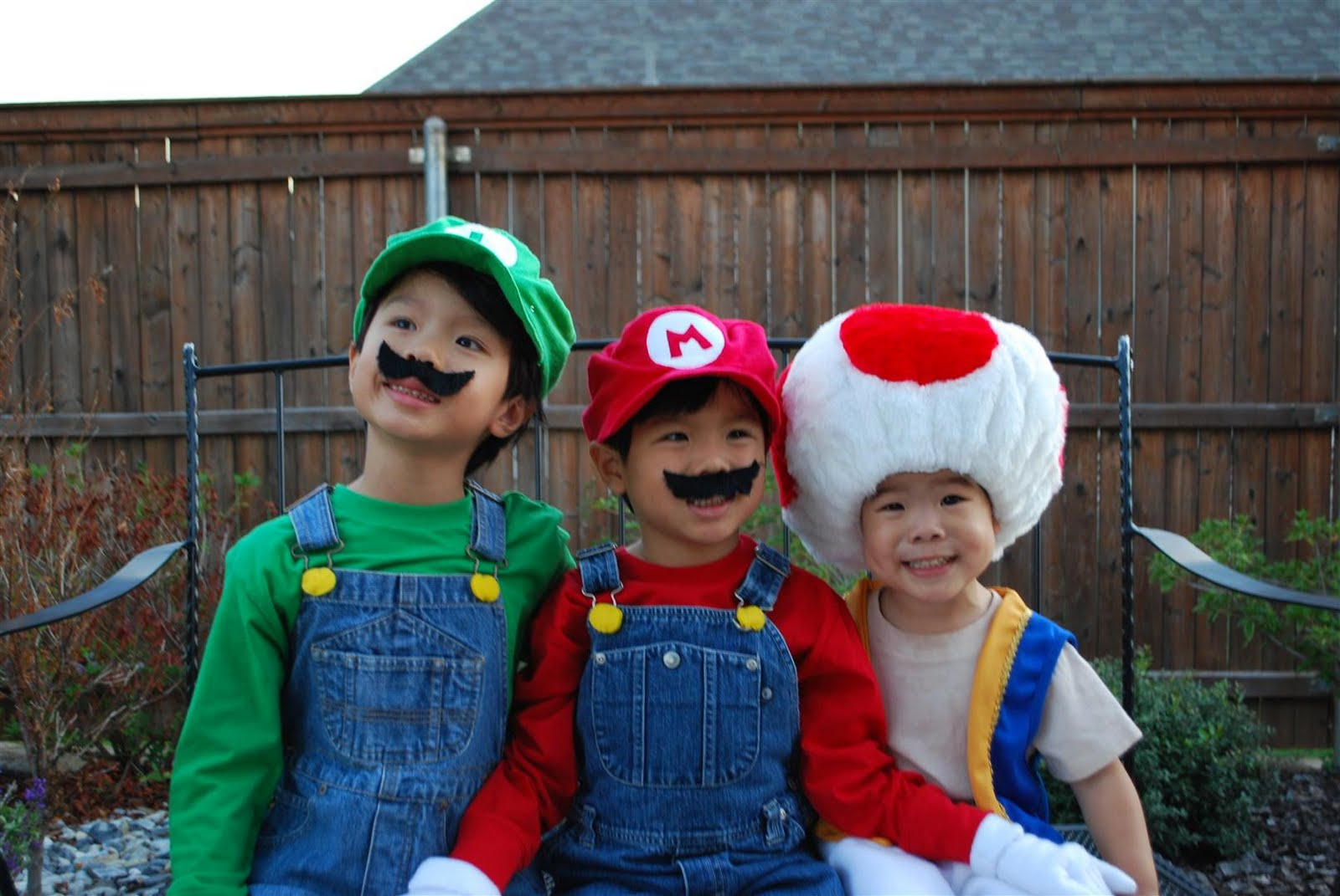 I was finally able to capture a picture of my boys in their costume this year. This is a rarity.  sc 1 st  craftyc0rn3r & craftyc0rn3r: My three munchkins...