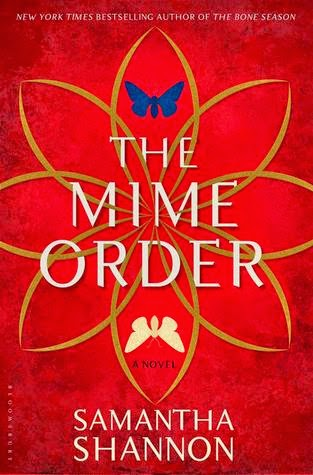 The Mime Order Samantha Shannon book cover