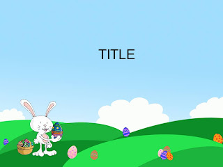 Free download Easter PowerPoint template 004A
