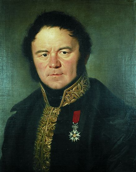 Portrait of Stendhal, 1836 | Silvestro Valeri 1814-1902, Italian painter