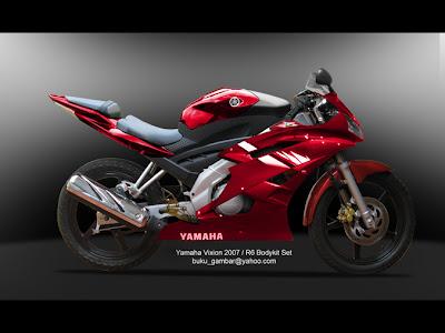 Modifikasi Yamaha Vixion Ala Motor Gp   Lintas Berita