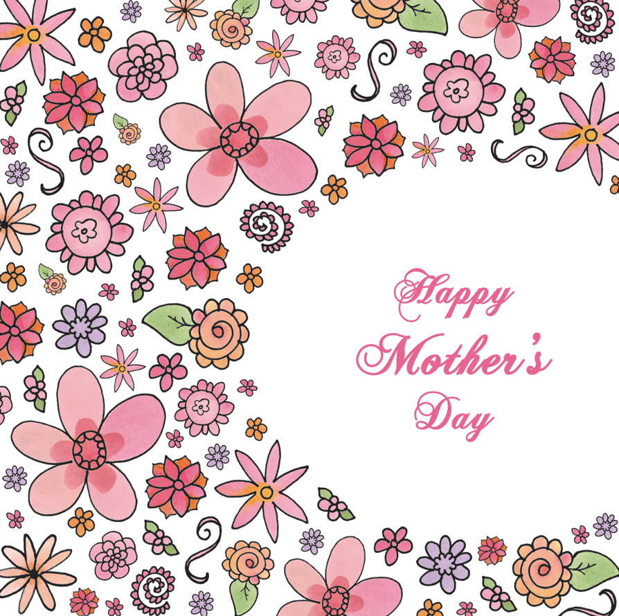 felicity french illustration mothers day cards. Black Bedroom Furniture Sets. Home Design Ideas