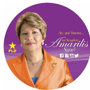 AMARILIS SANTANA, MI SENADORA