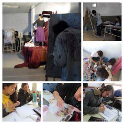 Bachiller en Artes Visuales con Especialidad en Producción Pintura