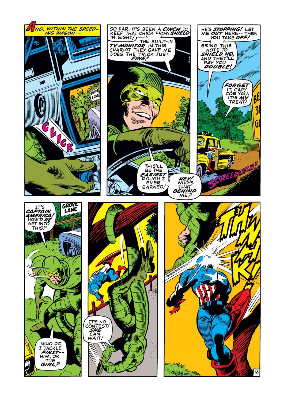 Captain America (1968) Issue #122 #36 - English 15