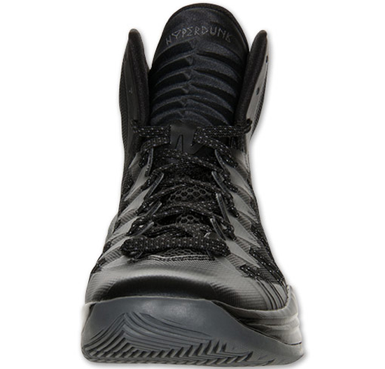 Nike Hyperdunk 2013 Black/Metallic Silver-Dark Grey: