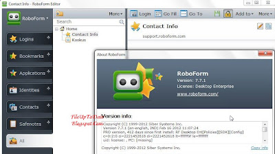 Free Key AI Roboform 7.7.1 Enterprise Full License