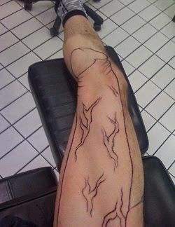 tatuajes arriba del pene