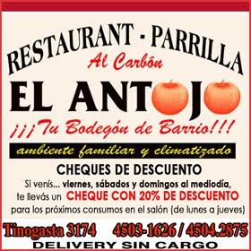 """Restaurant - Parrilla """"EL ANTOJO"""""""