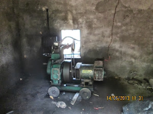 """Diesel Generator Power Supply""  in ""Nature Heritage resort""."