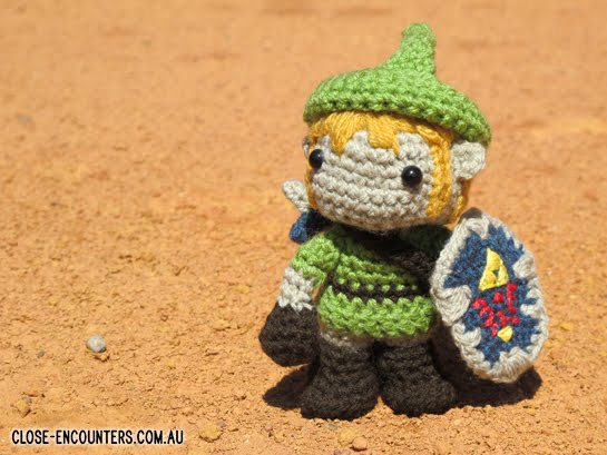 Amigurumi Zelda Pattern : Close encounters crochet creations by danni close amigurumi link