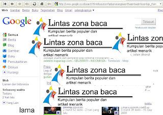 tampilan lama google