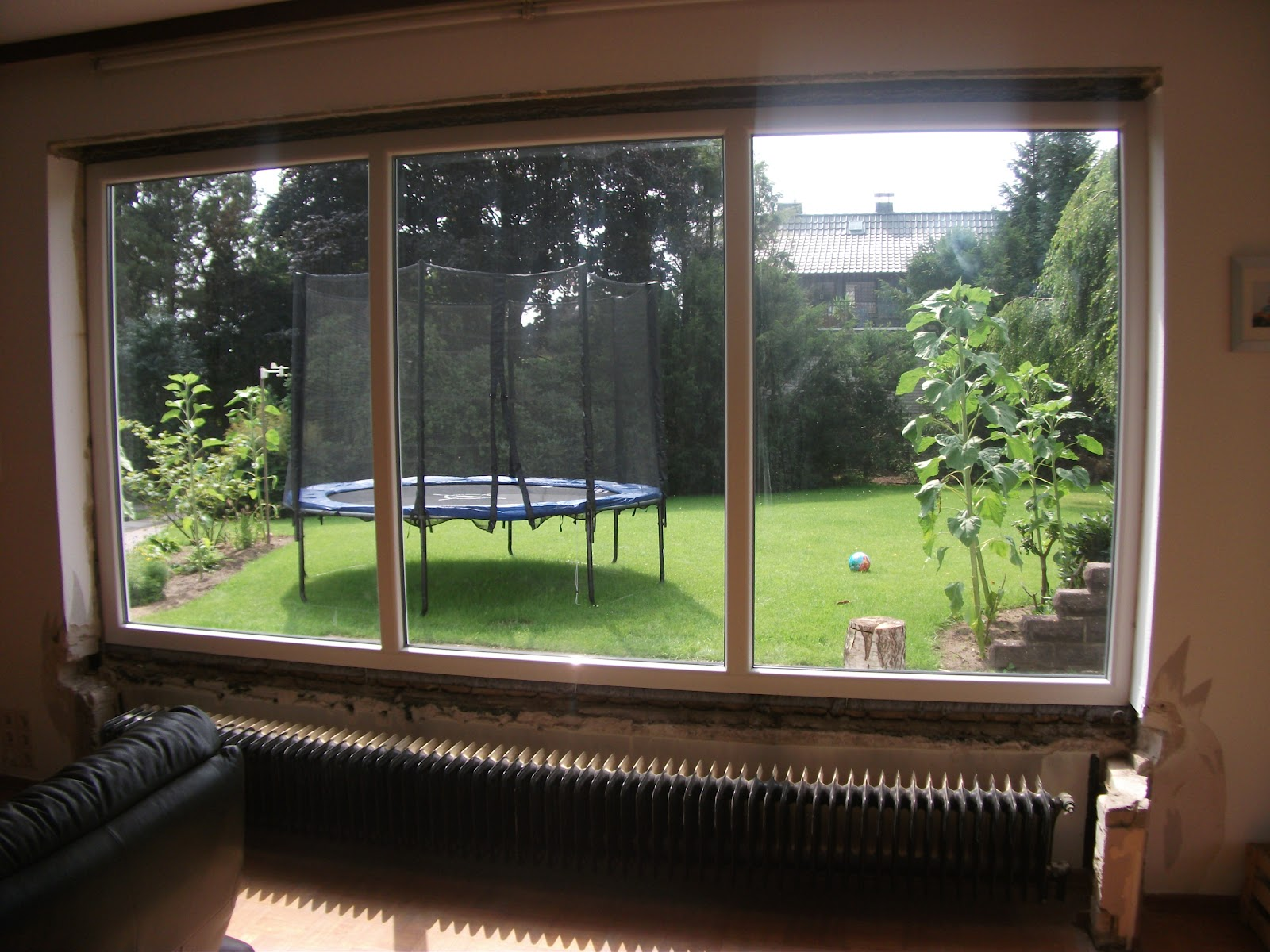 Projekt: Neues Wohnzimmerfenster.... Verspachteln Und Fensterbank Macht  Benny.