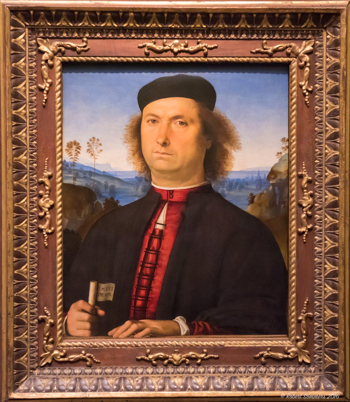 Portrait of Francesco delle Opere - 1494