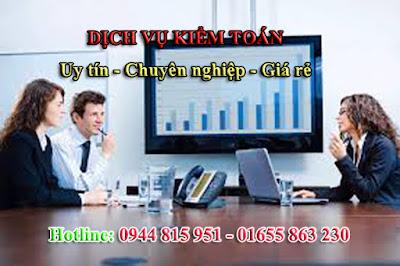 Dịch vụ kiểm toán cho doanh nghiệp trên toàn quốc uy tín