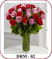 buket bunga mawar elegan