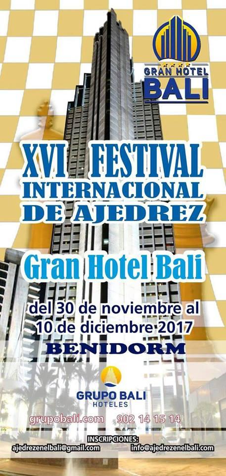 XVI Festival Internacional Gran Hotel Bali