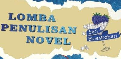 Lomba Menulis Novel Seri Bluestroberi 2013