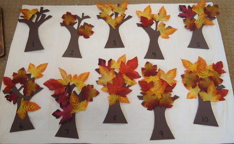 Autumn Trees 1-10 (Photo from To the Lesson!)