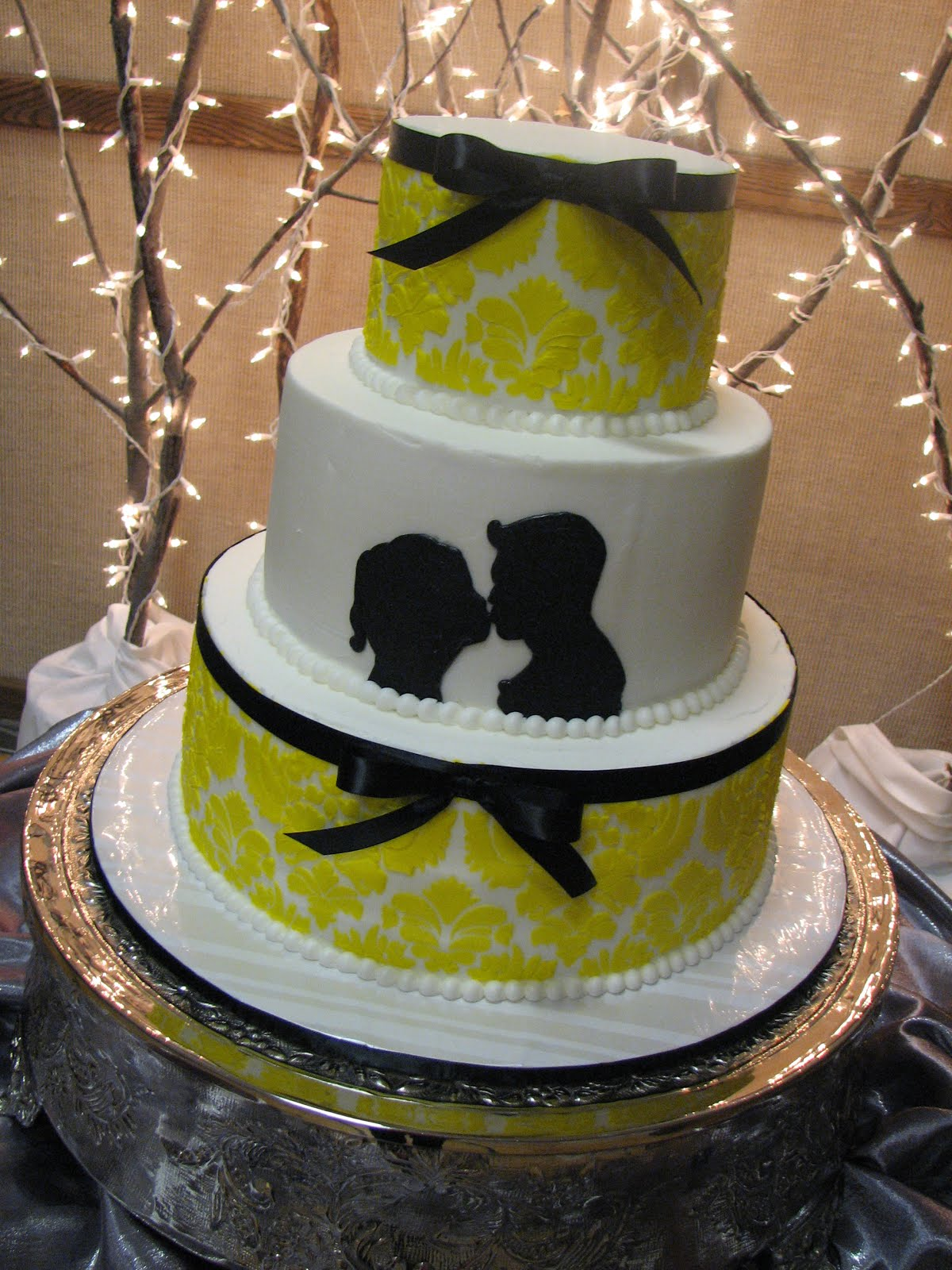 Decadent Designs McKenzie and Taylor s Silhouette Wedding