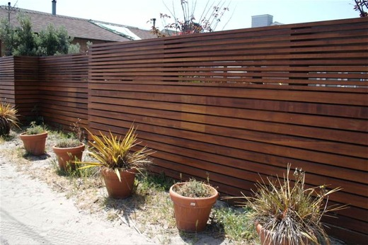 Wooden fence designs offer a rustic look design blog Wood garden fence designs