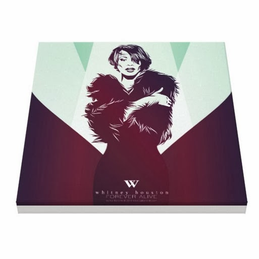 Whitney Houston by Kai Karenin, illustrations for sale, posters, print on canvas, iPhone case, iPad case, t-shirts