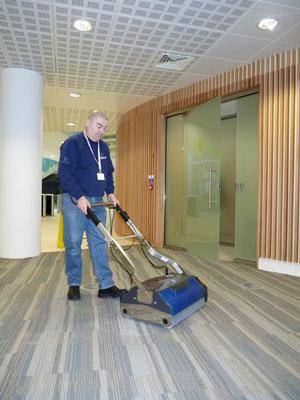 Versatile Floor Scrubber Carpet Sweeper And Clean