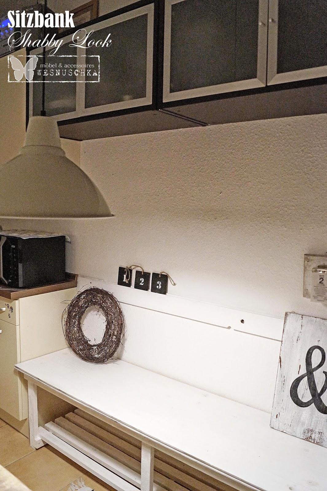 Wesnyanka: Küchenbank oder Möbel zum selber machen