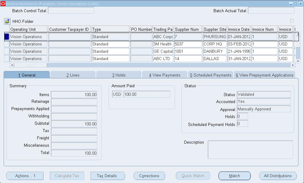 Oracle Financial functional and Technical Topics: How to Run AP List