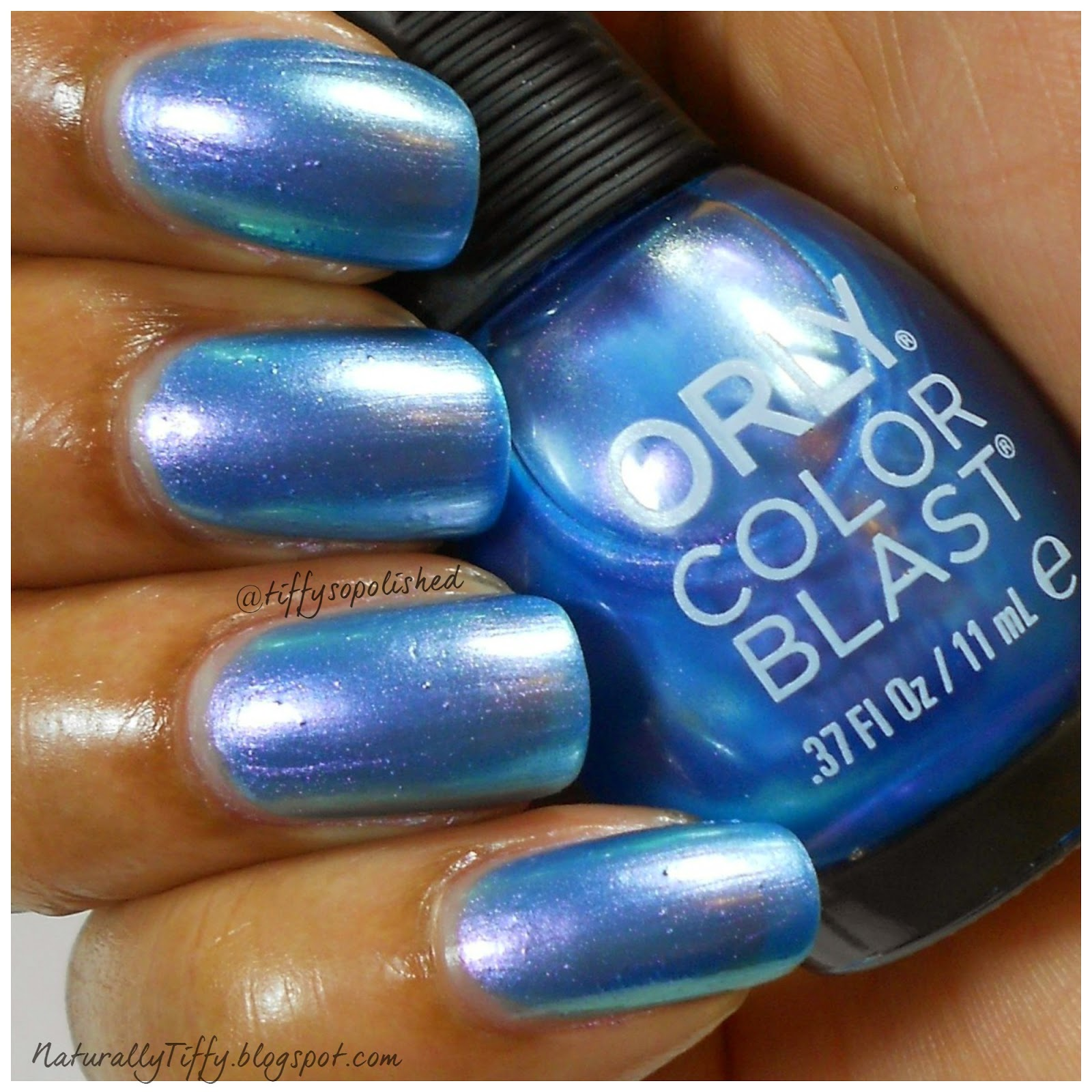 The Elsa Frozen Orly Color Blast Collection | NaturallyTiffy