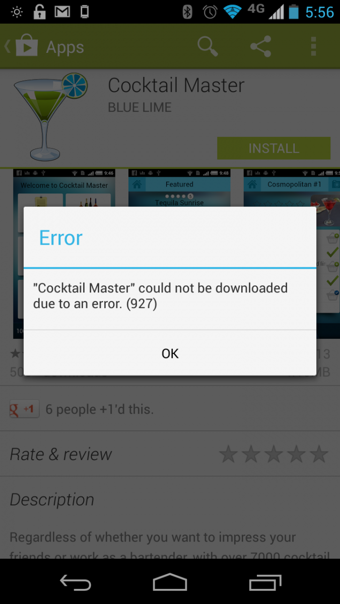 Crazy Science Xp: How to deal with Google Play Errors 194 , 905 ...