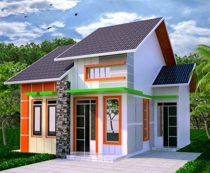 model rumah sederhana 2014 1 lantai 2015 desain gambar