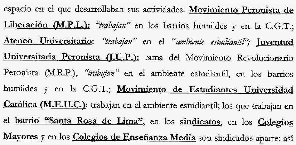 Parte del informe, en el expediente judicial.