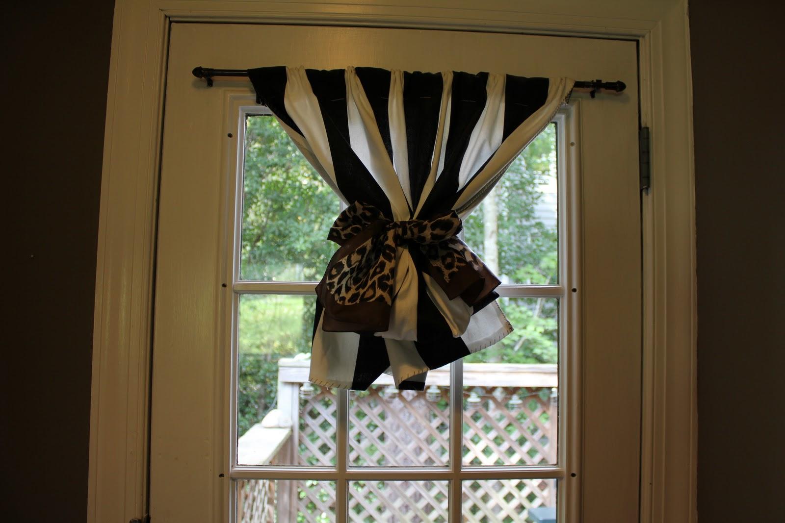 Fabric doorway curtains - Peahen Pad Diy Door Window Curtain