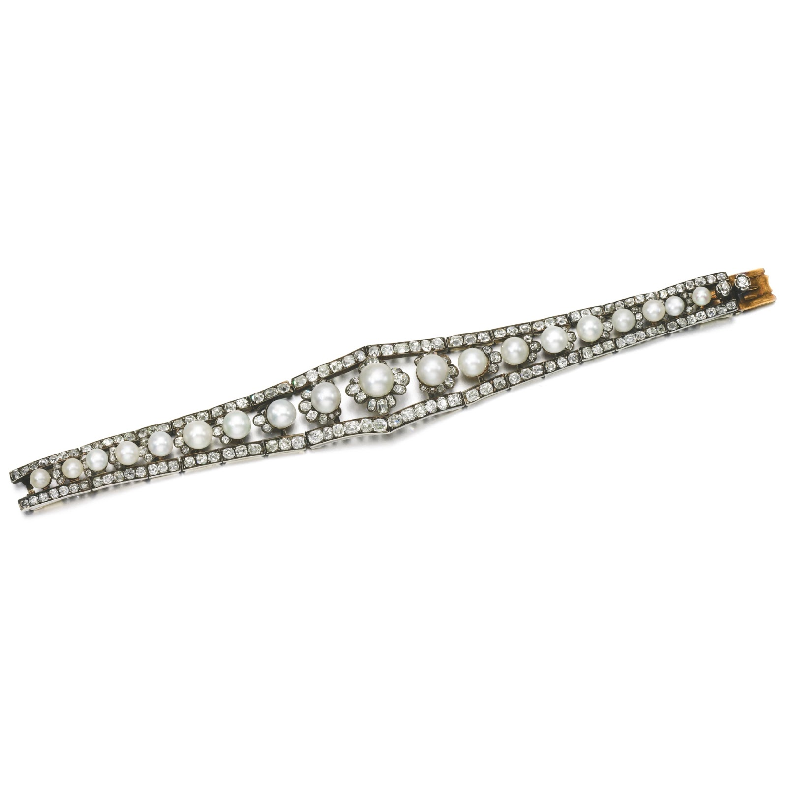 silver product lagos diamond gallery freshwater and sterling lyst bracelet jewelry pearl